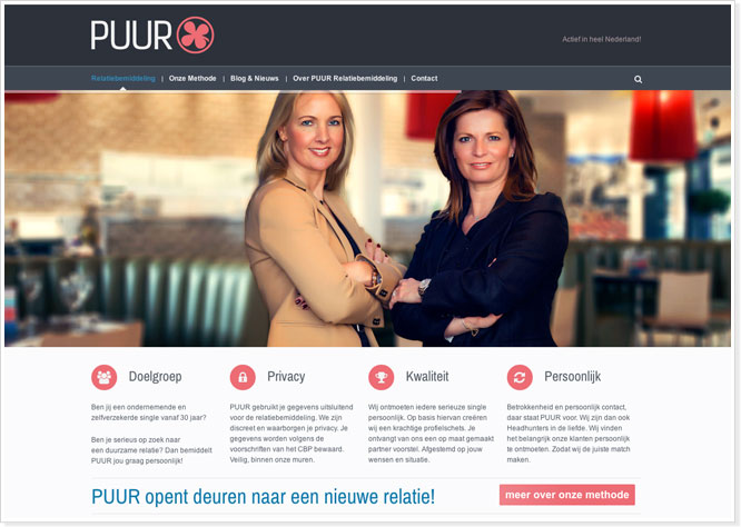 website-en-amp-marketing-puur-relatiebemiddeling